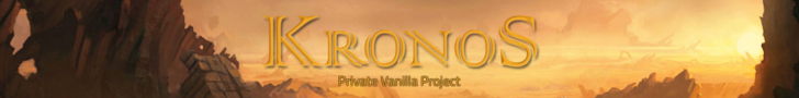 Kronos-WoW | Vanilla | PvP & PvE Content | World Events | Huge community